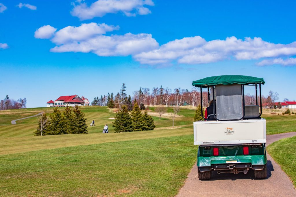 Bev Cart & Clubhouse