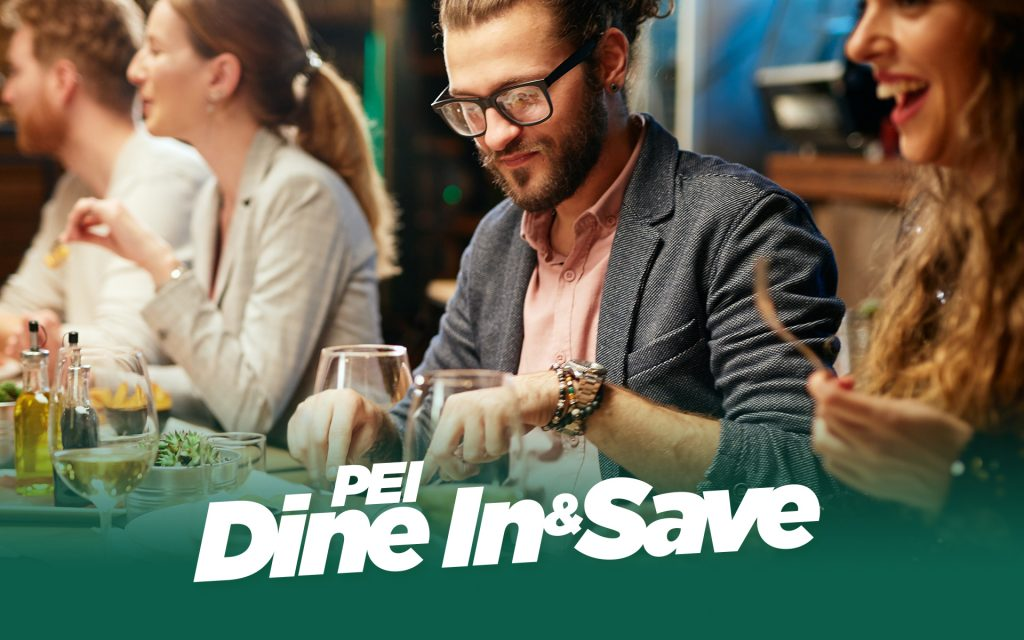 PEI Dine In & Save - Promo Banner